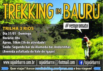 Trekking em Bauru 2