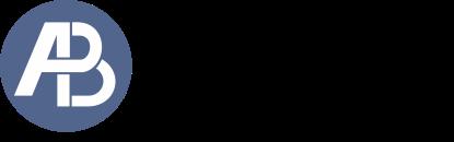 logo AB preto transparente